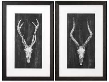 Uttermost Grace Feyock Rustic European Mounts Prints (Set of Two) UT33648