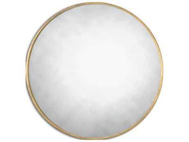 Uttermost Junius 43 Round Gold Wall Mirror UT13887