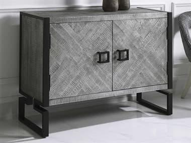 Uttermost Keyes Light Gray / Charcoal Buffet UT24990