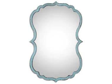 Uttermost Nicola 18 x 27 Light Blue Wall Mirror UT13925