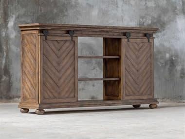Uttermost Primalia Antique Honey TV Stand UT25445