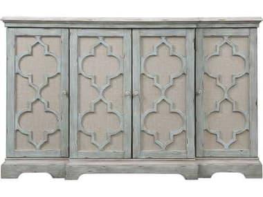 Uttermost Sophie 60 x 14 Grey Four Door Cabinet UT24520