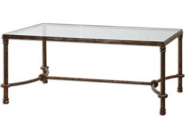 Uttermost Warring 48 x 28 Rectangular Iron Coffee Table UT24333