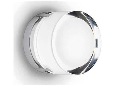 Vibia Scotch Chrome 1-light Glass LED Outdoor Ceiling Light Wall VIB09620110