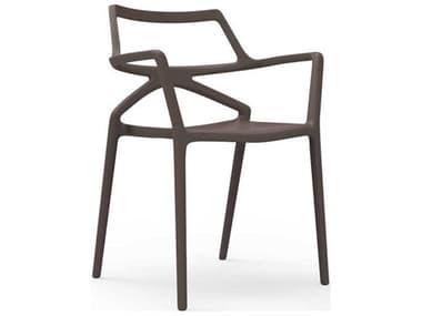 Vondom Delta Bronze Matte Arm Dining Chair (Set of 4) VON66026BRONZE