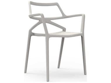 Vondom Delta Ecru Matte Arm Dining Chair (Set of 4) VON66026ECRU