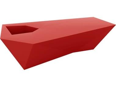 Vondom Faz Red Matte Accent Bench VON54046RED