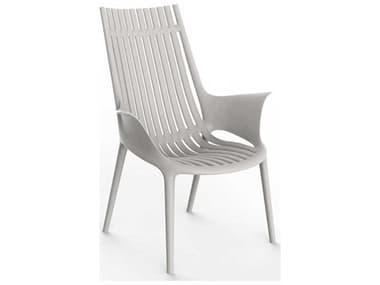 Vondom Ibiza Ecru Matte Accent Chair (Set of 2) VON65039ECRU