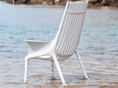 Vondom Ibiza White Matte Accent Chair (Set of 2) VON65039WHITE