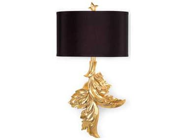 Wildwood Gaylord Gold Leaf Wall Sconce (Right) WL67100
