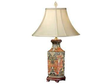 Wildwood Lamps Porcelain Hex Vase Table Lamp WL6995