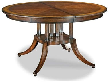Woodbridge Furniture Hope Santa Fe 54-102'' Wide Round / Oval Dining Table with Extension WBF505011