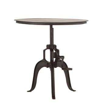 World Interiors Artezia Matte 36'' Wide Round Dining Table WITZWAT3634