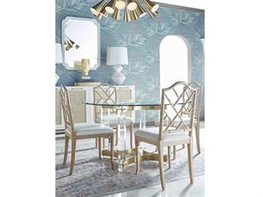 Worlds Away Dining Room Set WAHENDRIXABR48SET