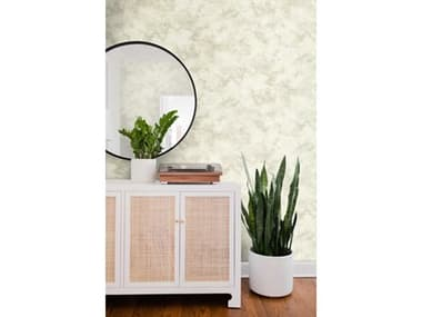 York Wallcoverings Impressionist White Pressed Petioles Wallpaper YWCL2564