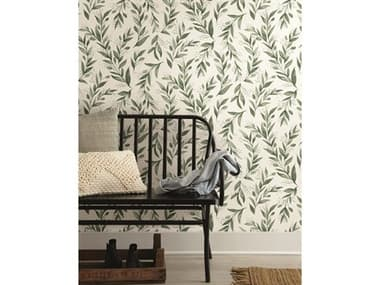 York Wallcoverings Magnolia Home Peel & Stick Olive Grove Olive Branch YWPSW1001RL