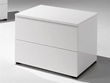YumanMod Basic White 2 Drawers Nightstand YMCR45512