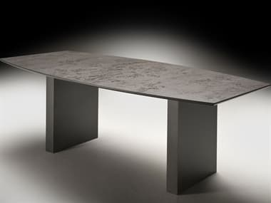 YumanMod Buddy Lacquered Anthracite Dining Table YMOR0101
