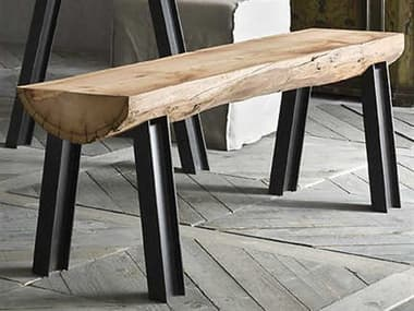 YumanMod Colorado Dining Bench with Old Larch Timber Details YMSD010902