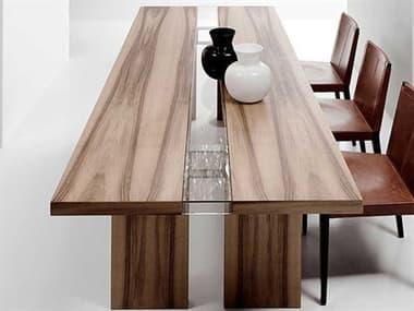 Yumanmod Regency Walnut Rectangular Dining Table YMBR0104NWW