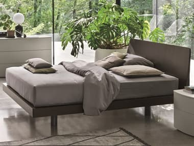 YumanMod Roger Charcoal Grey King Queen Platform Bed YMTM041302