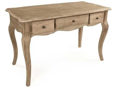 Zentique Serene Limed Grey Oak Secretary Desk ZENT135E272