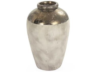 Zentique Gilded Top 16'' Wide Vase ZEN4871LA773A