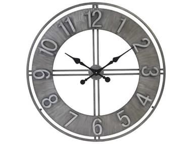 Zentique Distressed Metal Adorlee Wall Clock ZENPC060