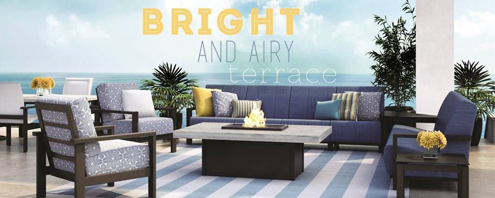Bright & Airy Terrace
