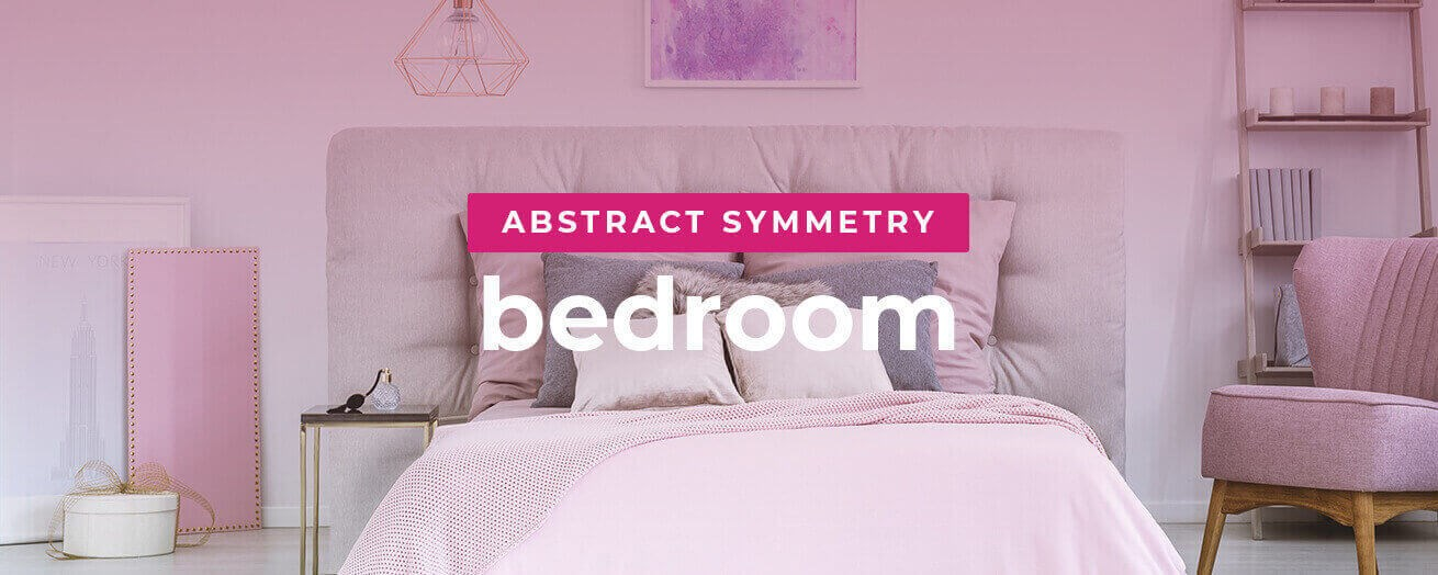 Abstract Symmetry Bedroom