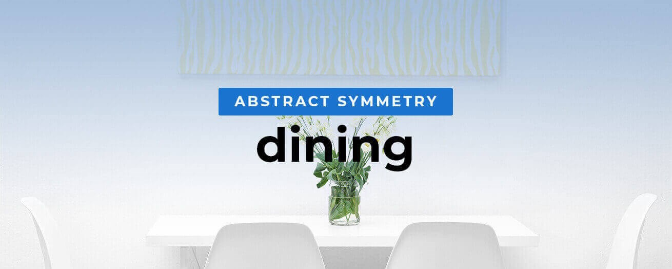 Abstract Symmetry Dining Room