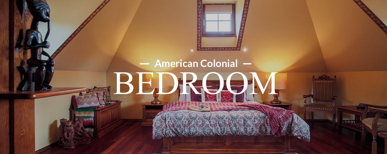 American Colonial Bedroom