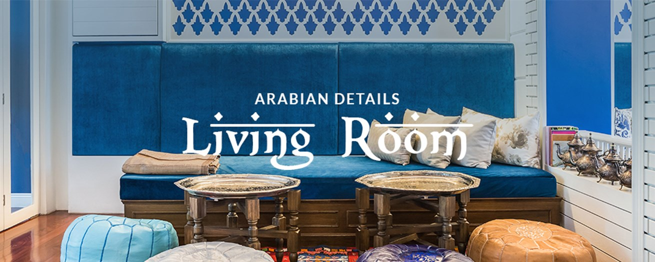 Arabian Living Room