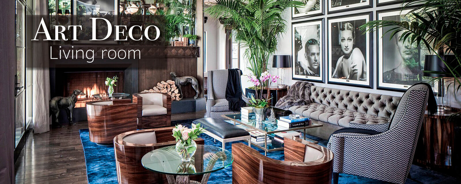 Art Deco Style | Living Room