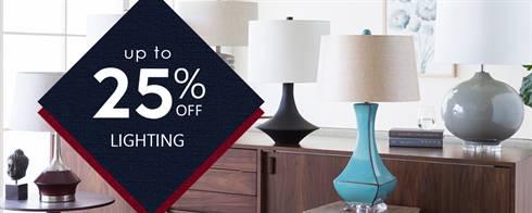 Memorial Weekend Lighting Sale
