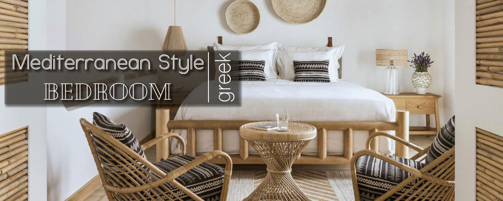 Greek Mediterranean Style | Bedroom