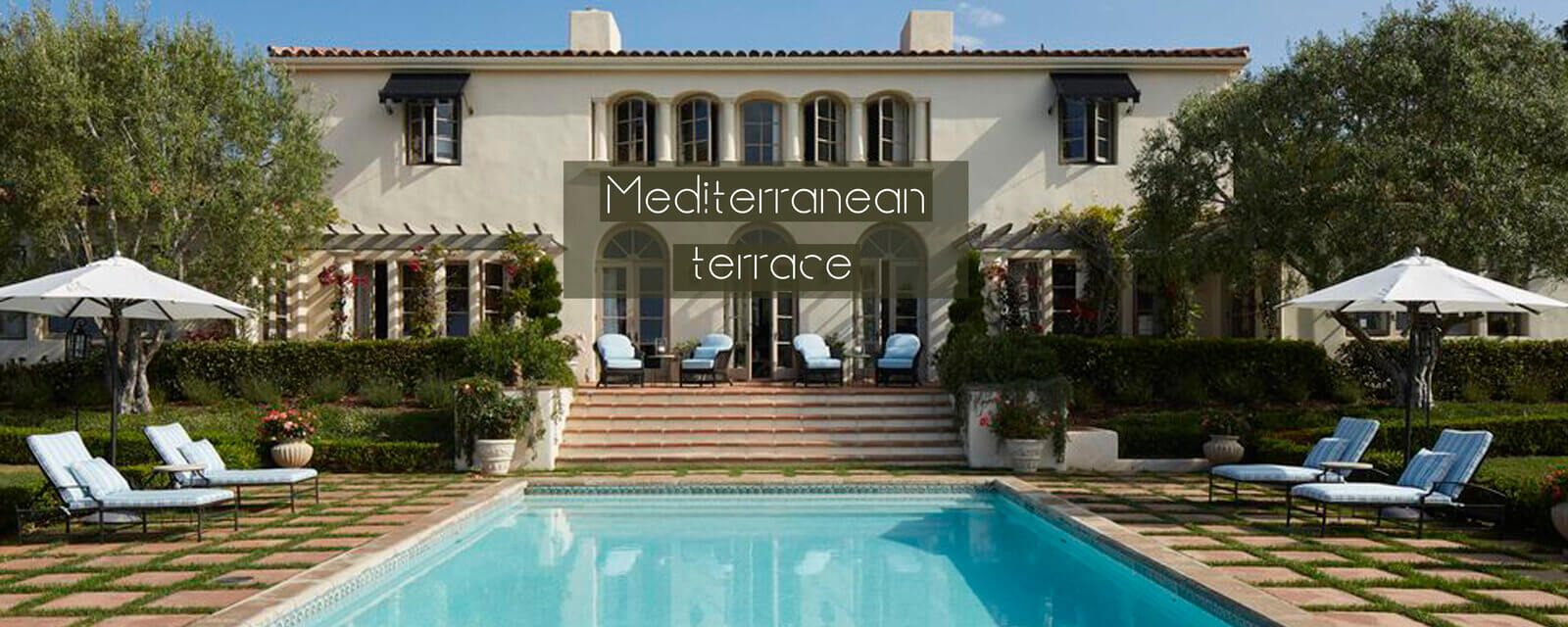 Mediterranean Terrace Ideas