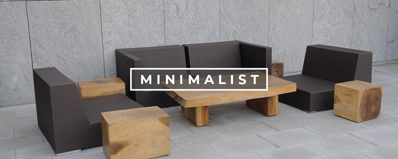 Minimalist Outdoor Patio