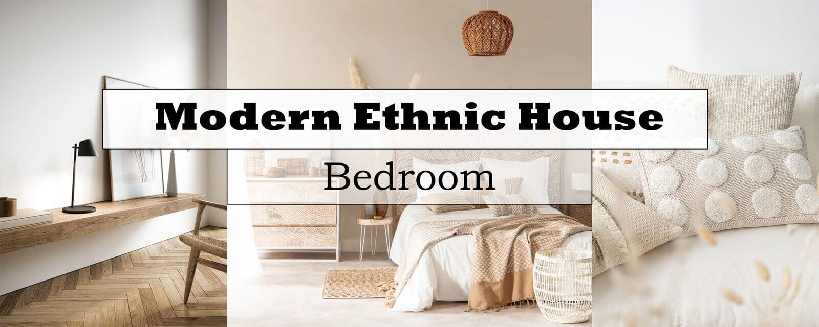 Modern Ethnic House | Bedroom