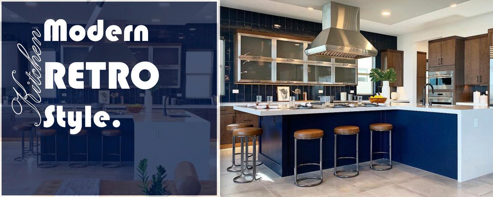 Modern Retro Style | Kitchen