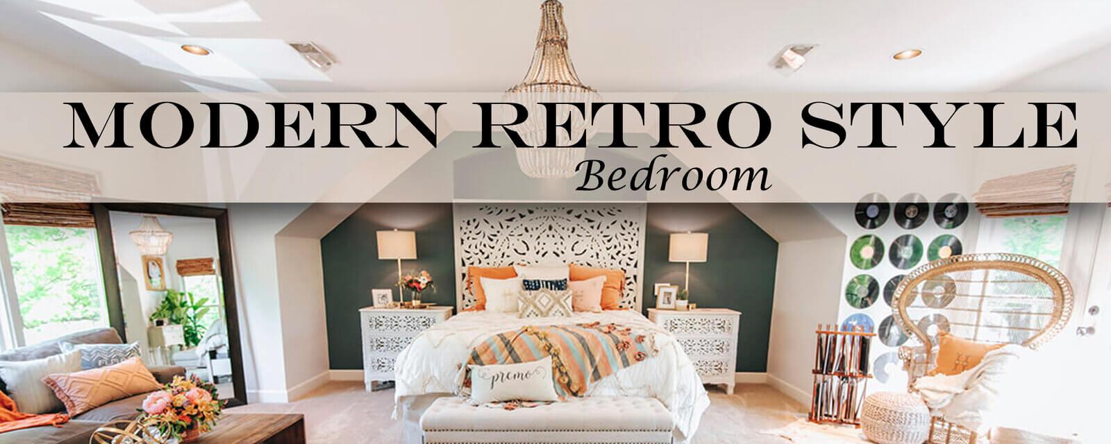 Modern Retro Style | Bedroom