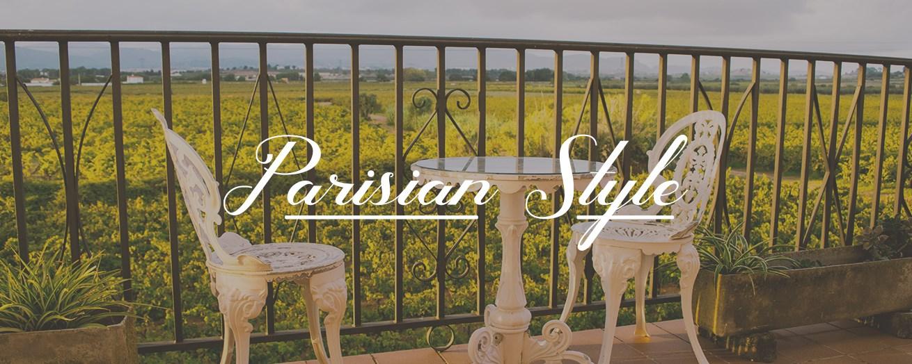 Parisian Style Outdoor Furniture