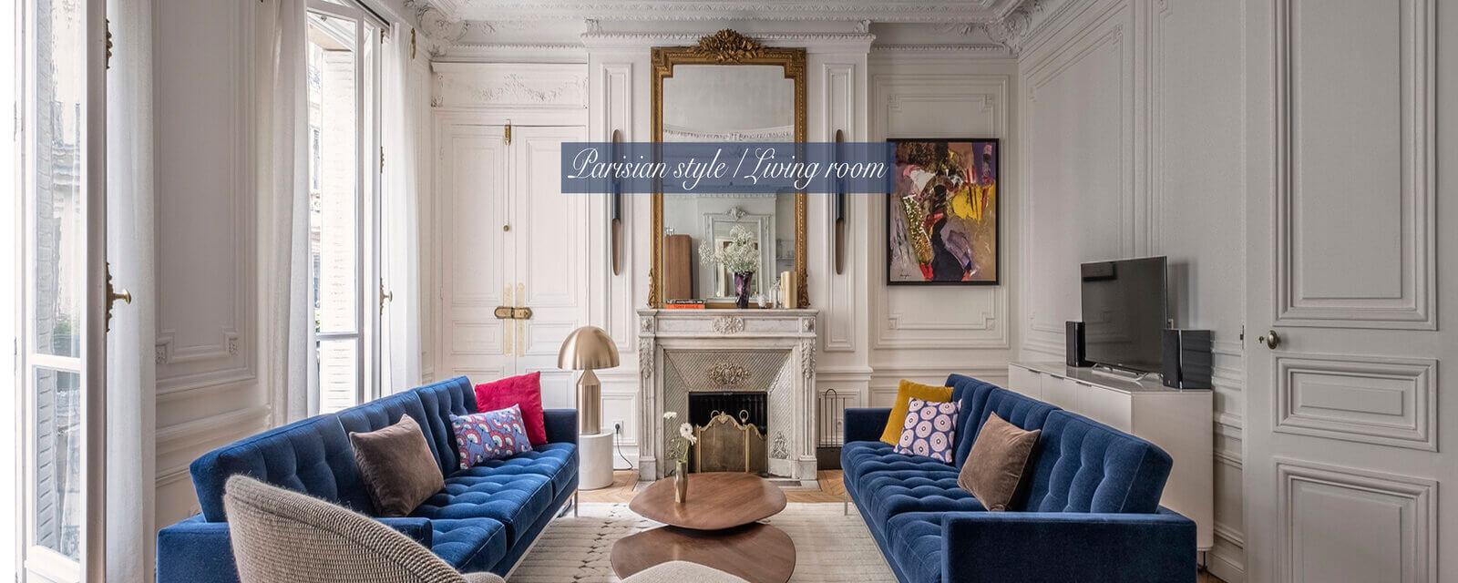 Parisian Style | Living Room