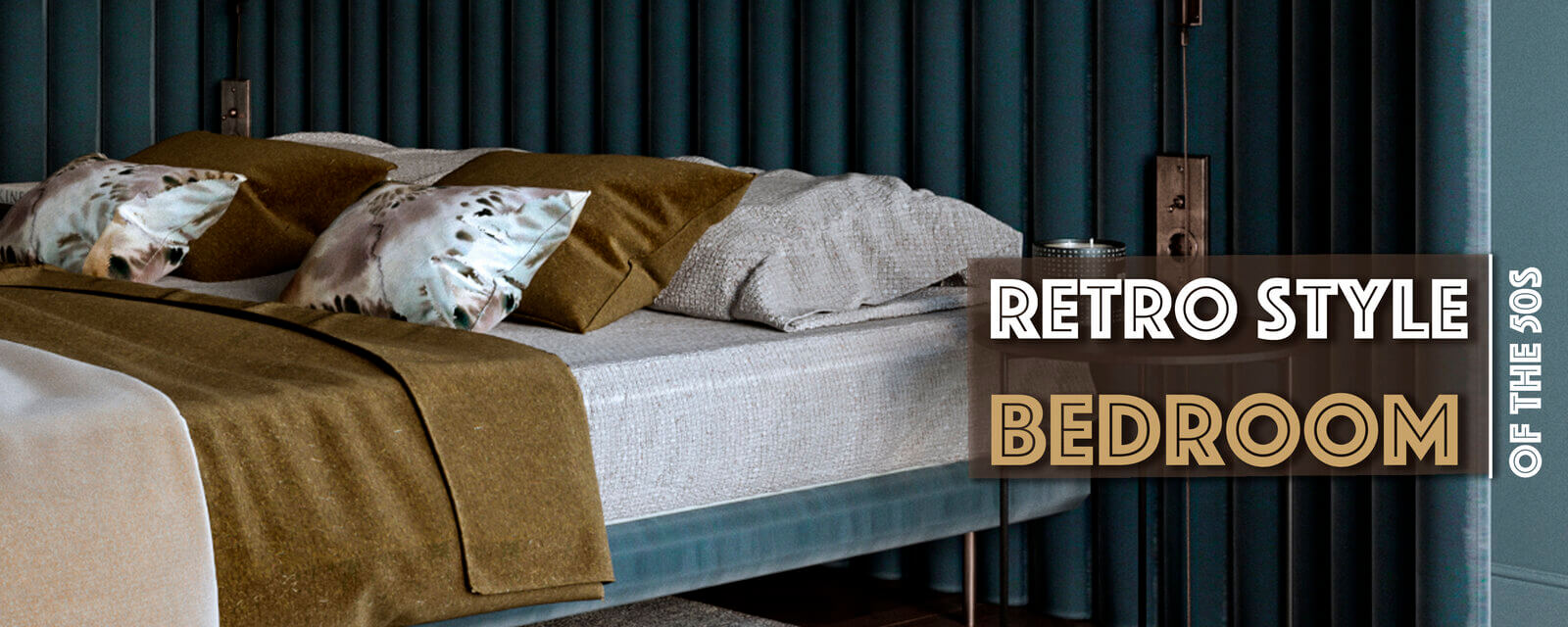Retro Style Of the 50s | Bedroom