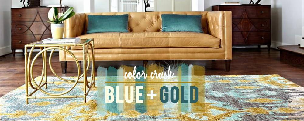 Color Crush BLUE + GOLD