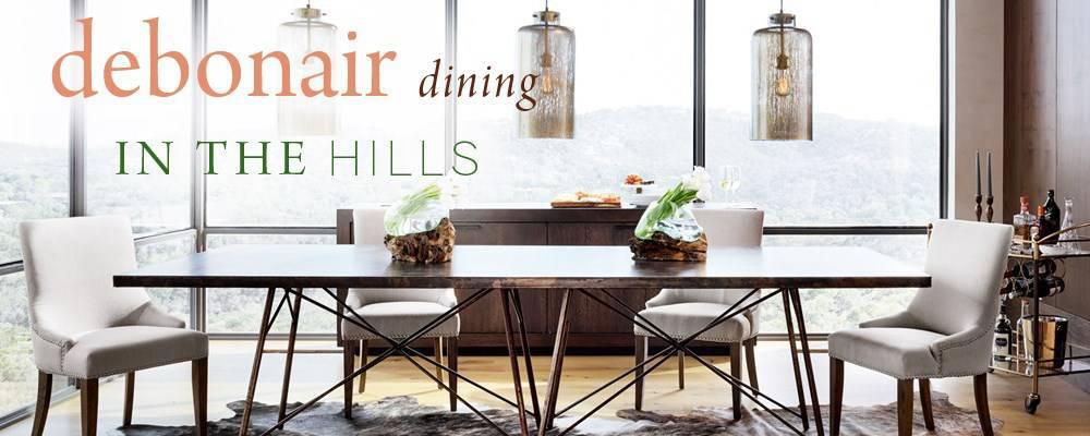 Debonair Dining in the Hills