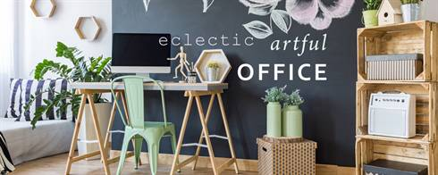 Eclectic Artful Office