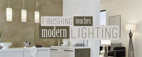 Finishing Touches: Modern Lighting