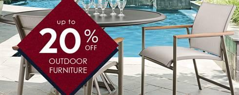 Memorial Weekend Outdoor Furniture Sale
