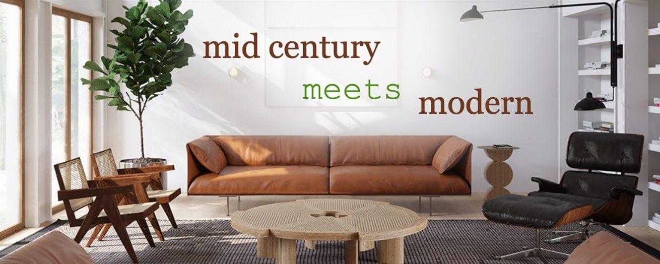 Mid Century Meets Modern
